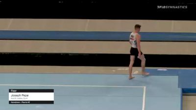 Joseph Pepe - Floor, North Valley Gym - 2021 US Championships