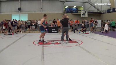 79 kg Consi Of 16 #2 - Jared Siegrist, Mat-Town USA vs Jacob Covaciu, Indiana