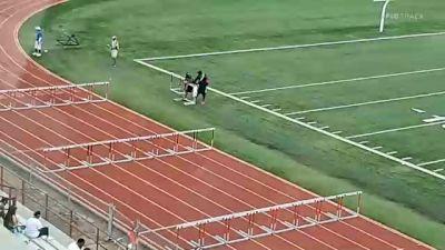 Youth Boys' 110m Hurdles, Finals 1 - Age 15-16