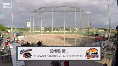 Full Replay - 2019 Chicago Bandits vs Aussie Peppers - Game 2 | NPF - Chicago Bandits vs Aussie Peppers - Gm2 - Jul 10, 2019 at 7:07 PM CDT