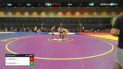 165 lbs Prelims - Casey Randles, Wyoming vs Kyle Caldwell, UN-Grand View
