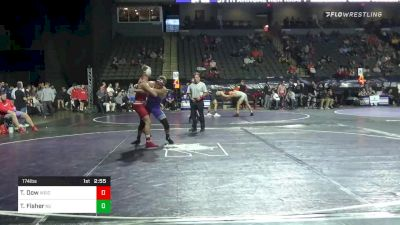 174 lbs Consolation - Tyler Dow, Wisconsin vs Troy Fisher, Northwestern