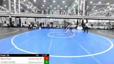 152 lbs Final - Nicco Ruiz, Sunkist Kids Monster Garage vs Joseph Sealey, Wyoming Seminary