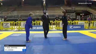 TAMARA NEAL SMITHSON vs MELISSA LOZANO 2020 World Master IBJJF Jiu-Jitsu Championship