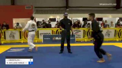 ISAAC DOEDERLEIN vs RICHAR EMILIANO NOGUEIRA 2020 Houston International Open IBJJF Jiu-Jitsu Championship