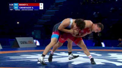 63 kg Final - Said Khusein Bakaev, Russia vs Diego Chkhikvadze, Georgia