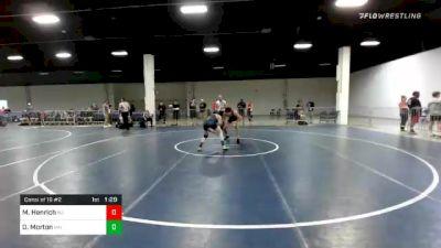 138 lbs Consolation - Matthew Henrich, NJ vs Drayden Morton, MN