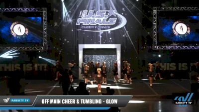 Off Main Cheer & Tumbling - Glow [2021 L1.1 Tiny - PREP - D2 Day 1] 2021 The U.S. Finals: Louisville