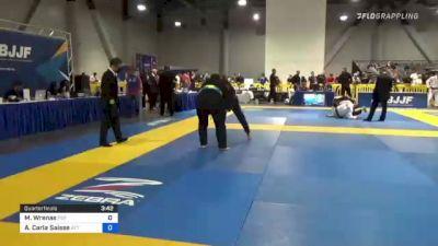 Michelle Wrenas vs Ana Carla Saisse 2021 American National IBJJF Jiu-Jitsu Championship