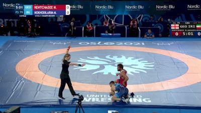 79 kg 1/2 Final - Nika Kentchadze, Georgia vs Mohammad Nokhodilarimi, Iran