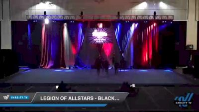 Legion of Allstars - Black Hawks [2021 L5 Junior - D2 Day 2] 2021 The American Royale DI & DII
