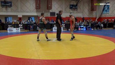 77 kg Consi Of 4 - Alec Ortiz, Minnesota Storm vs Brandon Mueller, Air Force WCAP
