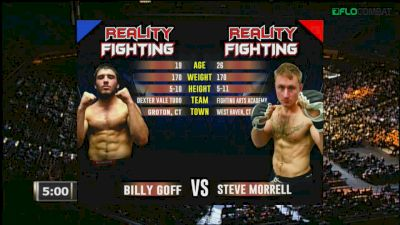 Billy Goff vs Steve Morrell Reality Fighting Replay
