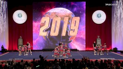 A Look Back At The Cheerleading Worlds 2019 - International Open Non Tumbling Medalists