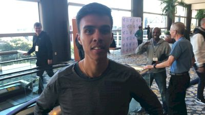 Former BYU Runner Nico Montanez Was The Top American But Started 4 Seconds Behind Elite Field