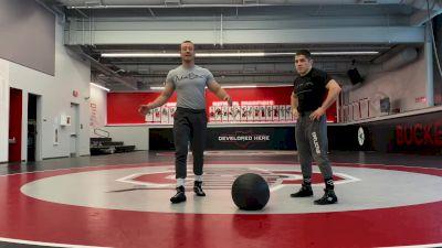 Coach Myers Wrestling S&C: Medicine Ball Partner Circuit
