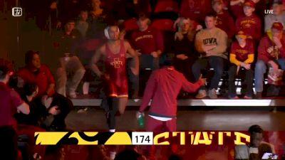 174 lbs - Michael Kemerer, Iowa vs Marcus Coleman, Iowa State