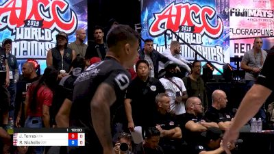JT Torres vs Ross Nicholls 2019 ADCC World Championships