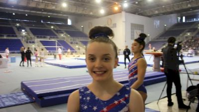 Interview - Sophia Butler (USA) - Training Day 3, 2019 City of Jesolo Trophy.mov.mov