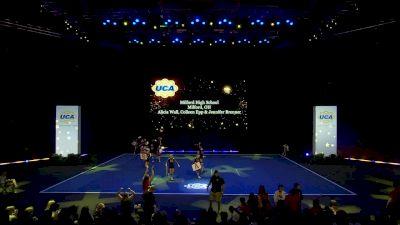 Milford High School [2020 Small Varsity Non Building Finals] 2020 UCA National High School Cheerleading Championship