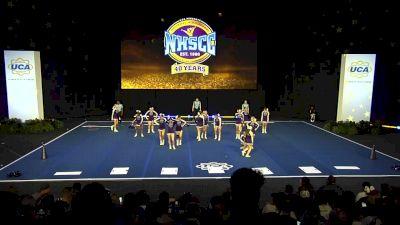 Celebration High School [2020 Medium Varsity Non Tumbling Finals] 2020 UCA National High School Cheerleading Championship