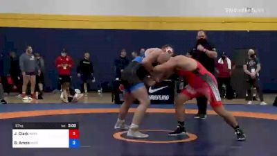 97 kg Final - Jacob Clark, Minnesota Storm vs Braxton Amos, Wisconsin Regional Training Center