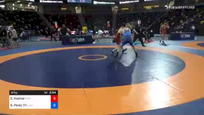 67 kg Prelims - Dallas Koelzer, Kansas vs Robert Perez 111, Sunkids Wrestling Club