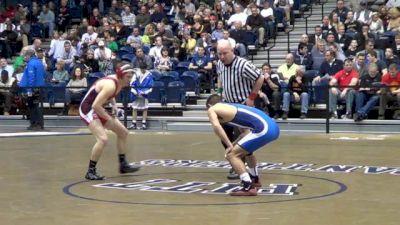 126 lbs match Tyler Walker WPIAL vs. Gabe Lumpp Virginia