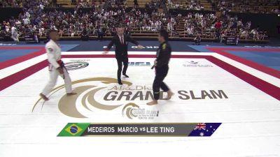 Marcio Medeiros vs Lee Ting 2018 Abu Dhabi Grand Slam Tokyo