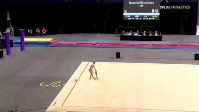 Victoria Kobelev - Ribbon, STLE - 2021 USA Gymnastics Championships
