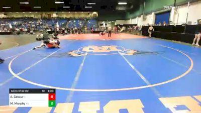 160 lbs Consolation - Allen Catour, IL vs Michael Murphy, NJ