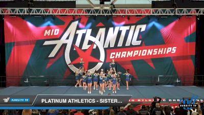 Platinum Athletics - Sister PAC [2020 L3 Youth Day 2] 2020 Mid-Atlantic Championships