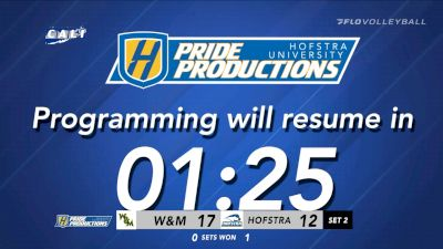 Replay: William & Mary vs Hofstra | Oct 9 @ 1 PM