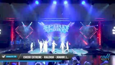 Cheer Extreme - Raleigh - Junior Jaws [2021 L6 Junior Coed Day 1] 2021 Spirit Sports: Battle at the Beach