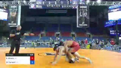 125 kg 3rd Place - Shawn Streck, Titan Mercury Wrestling Club (TMWC) vs Mauro Correnti, New York Athletic Club