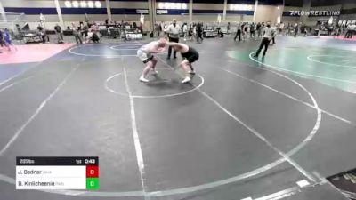 285 lbs 2nd Place - Jack Bednar, Ukiah WC vs Devin Kinlicheenie, Painted Desert WC