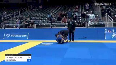 WILSON ANGEL SOJO JR vs DANIEL RUBINOV 2021 World IBJJF Jiu-Jitsu No-Gi Championship