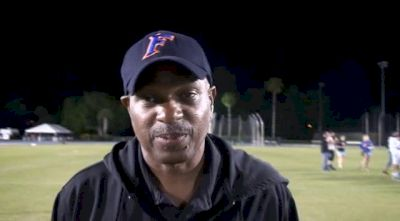 Coach Mike Holloway with yet another successful Florida Relays weekend
