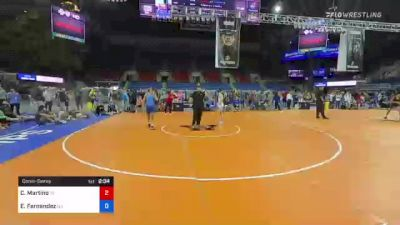 132 lbs Consolation - Christopher Martino, Idaho vs Ethan Fernandez, New Jersey