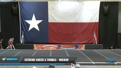 Extreme Cheer & Tumble - Wick3d [2021 L3 Junior - D2 - A Day 2] 2021 ACP Power Dance Nationals & TX State Championship