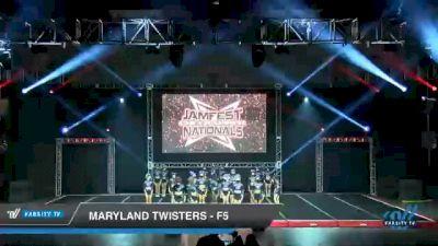 Maryland Twisters - F5 [2021 L6 Senior - Medium Day 1] 2021 JAMfest Cheer Super Nationals