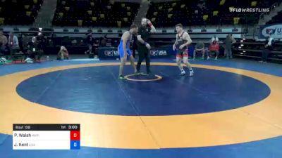 82 kg Semifinal - Peyton Walsh, Marines vs John Kent, Louisiana