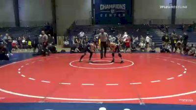 100 lbs Final - Elliot Davisson, Teknique Wrestling vs Ilya Yarmuratiy, Roundtree Wrestling Academy