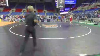 182 lbs Consolation - Adam Ahrendsen, Iowa vs Dante Roggio, Idaho