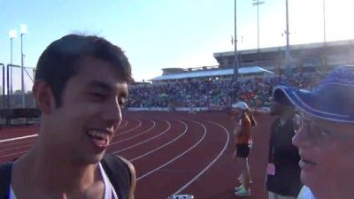 Chris Ibarra solo act in 3A, saved some energy for an encore in the mile
