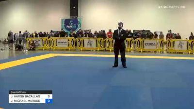 JOSHUA AARON BACALLAO vs JOSHUA MICHAEL MURDOCK 2020 IBJJF Pan No-Gi Championship