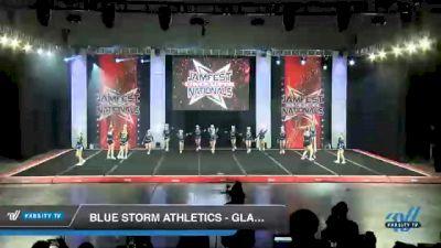 Blue Storm Athletics - GLACIER GIRLS [2021 L4 Junior - D2 - Small Day 1] 2021 JAMfest Cheer Super Nationals