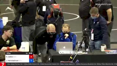 125 kg Final - Hunter Catka, Southeast RTC, Inc vs Joshua Heindselman, Oklahoma RTC