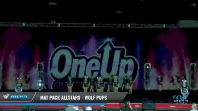 Mat Pack Allstars - Wolf Pups [2021 L1.1 Mini - PREP Day 1] 2021 One Up National Championship