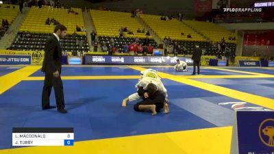 LOGAN MACDONALD vs JESIAH TUBBY 2020 Pan Kids Jiu-Jitsu IBJJF Championship